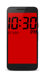 Big Digital Clock- screenshot thumbnail