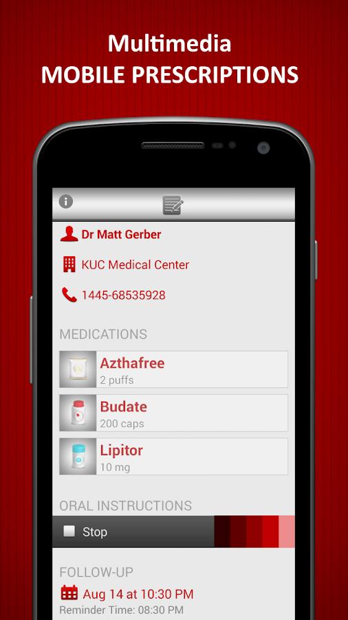 Medica Pill Medicine Reminder- screenshot