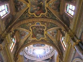 Photo: 214 La Valette, église St Paul, plafond nef, coupole