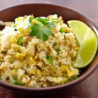 Thai Fried Rice | Khao Pad | ข้าวผัด.