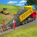 Train Station Construction Railway · JCB Simulator icon