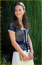 Photo: BEVERLY HILLS, CA - JULY 10:  Catherine, Duchess of Cambridge attends a reception to mark the Launch of Tusk Trust's US Patron's Circle on July 10, 2011 in Santa Barbara, California. The newly married Royal Couple are on the final day of their first joint overseas tour to the USA. They arrived on Friday after spending 9 days in Canada. The couple started off their tour of North America by joining millions of Canadians in taking part in Canada Day celebrations which mark Canada's 144th Birthday.  (Photo by Chris Jackson/Getty Images)