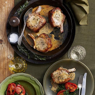 Lemon and Rosemary Pork Chops