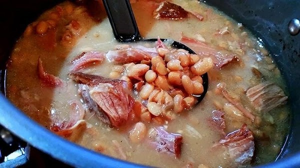 Soak your beans overnight, the night before you plan to cook. Empty the beans...
