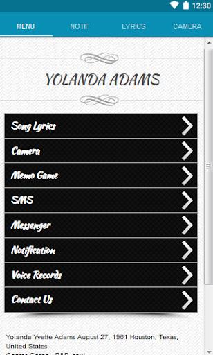 Yolanda Adams Lyrics