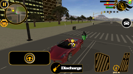 Stickman Sinpson Rope Hero Crime City Battle screenshot 2