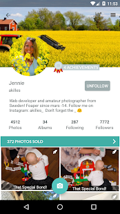 Foap - sell your photos – miniaturka zrzutu ekranu