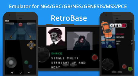 🕹️ Retro Emulator for N64 NES GBC MD MSX PCE 🔥 APK screenshot thumbnail 2