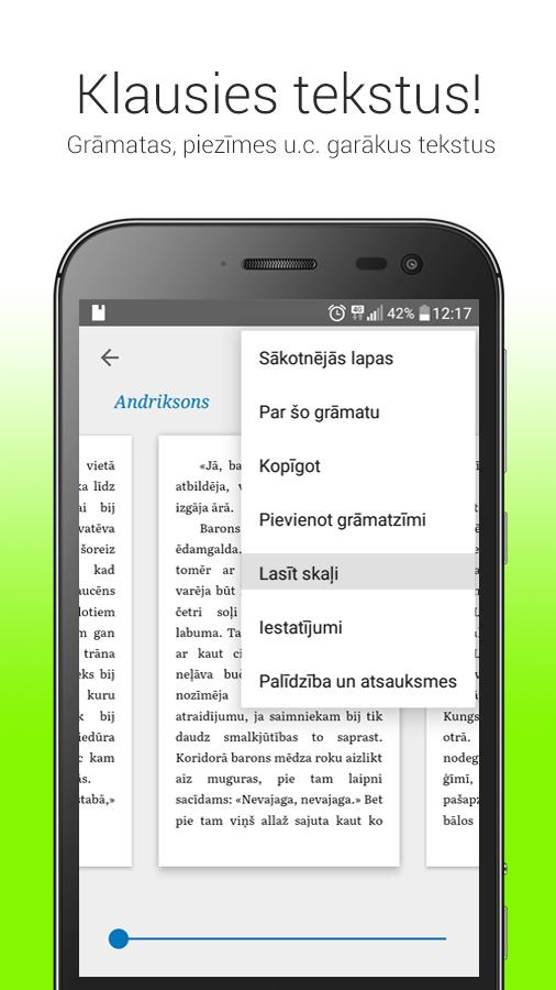 Tildes Balss Beta- screenshot