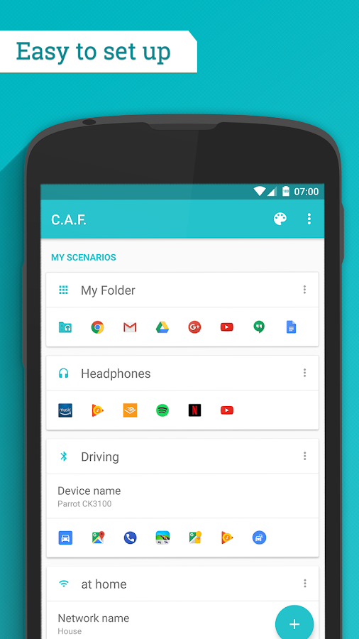 Contextual App Folder (C.A.F.)- screenshot