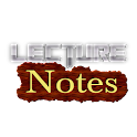 Lecture Notes icon