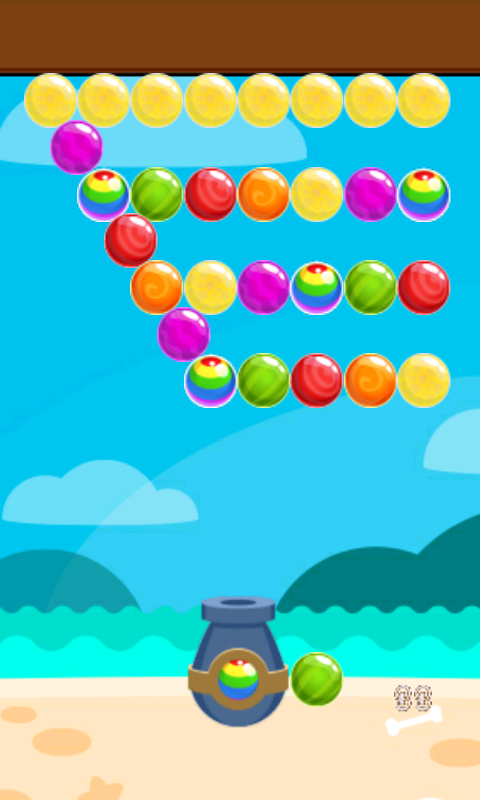 Seaside Bubble Shooter- screenshot