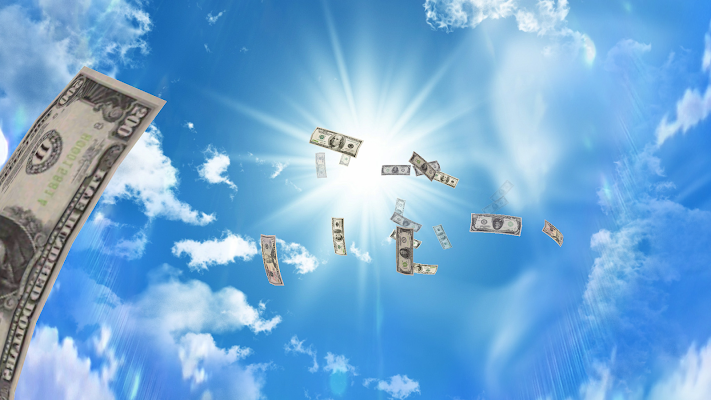 Falling Money 3D Wallpaper PRO v2.3