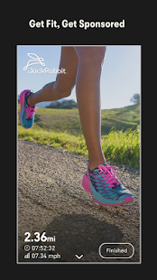 Charity Miles: Walking & Running Distance Tracker: miniatura da captura de tela