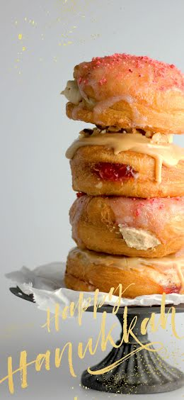 Happy Hanukkah Donuts - Winter Holiday item