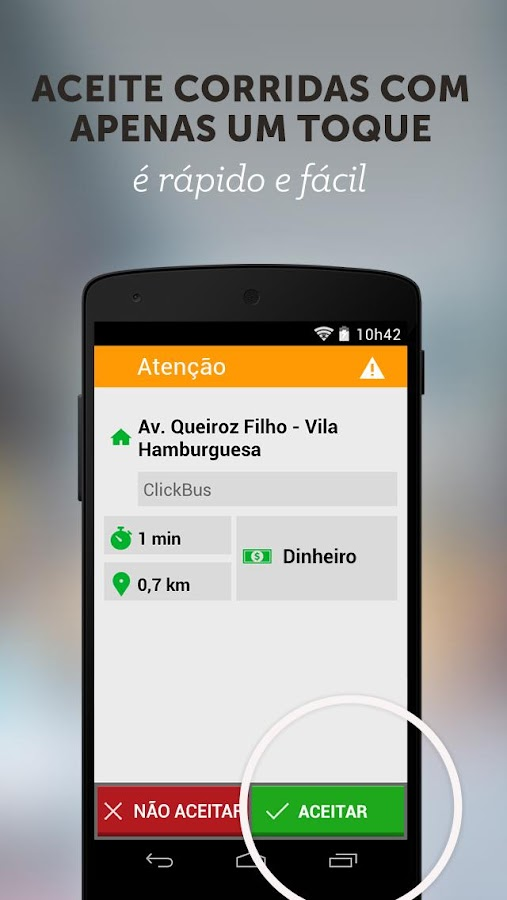 Easy Taxi - App para Taxistas: captura de tela