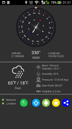 Weather Smart Compass