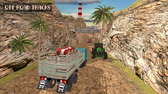 USA Truck Driver Simulator 3D - náhled