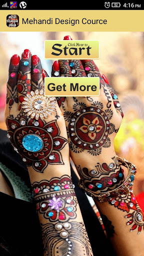 Mehandi Design Course Hindi me