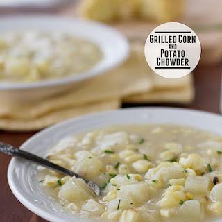 Grilled Corn and Potato Chowder