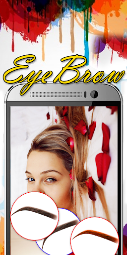 Eyebrow Shaping App - Beauty Makeup Photo  screenshots 4