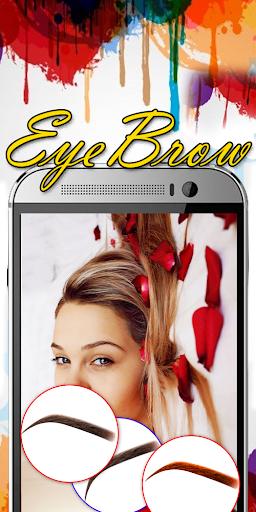 Eyebrow Shaping App - Beauty Makeup Photo 6.1 screenshots 4