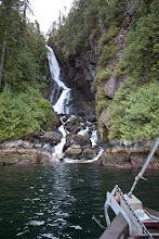 Photo: A fine waterfall en route.