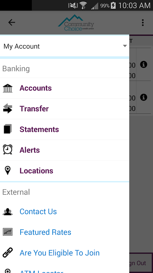 Your Choice Mobile Banking- screenshot