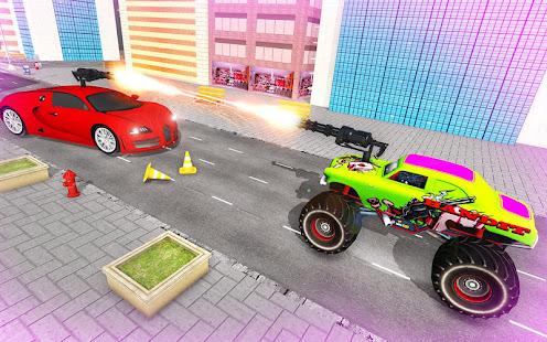 Download monster robot car transform: robot shooting war For PC Windows and Mac apk screenshot 7