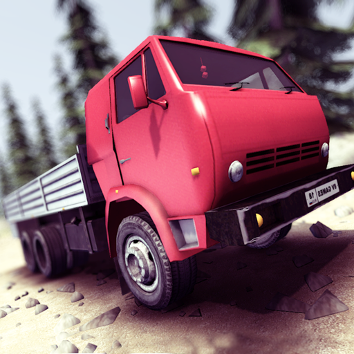 Truck Driver steep road (game)