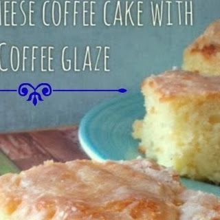 Cream Cheese Coffee Cake with Coffee Glaze