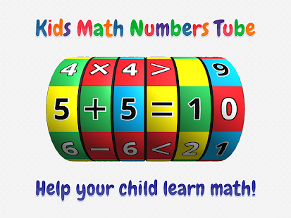 Kids Math Numbers Tube- screenshot thumbnail