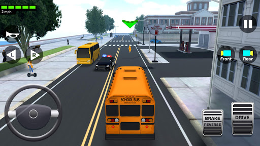 Super High School Bus Driving Simulator 3D - 2019 1.4 screenshots 2