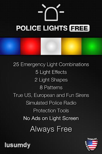 Police Lights Free screenshot 1