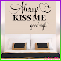 Bedroom Wall Decor Quotes icon