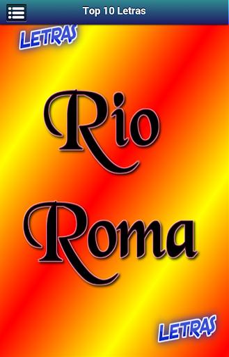 Letras Rio Roma