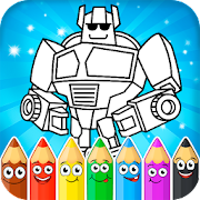 Game Painting : Robots APK for Windows Phone
