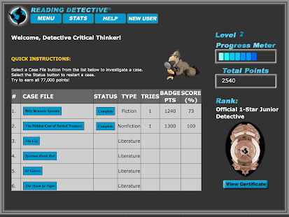 Reading Detective® B1- screenshot thumbnail