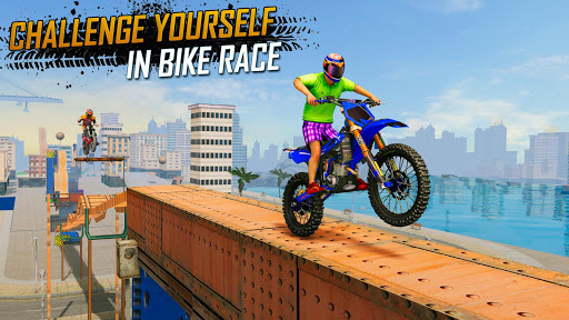 Trial Bike Racing Stunts : New Stunt Bike Games 3.9 screenshots 5