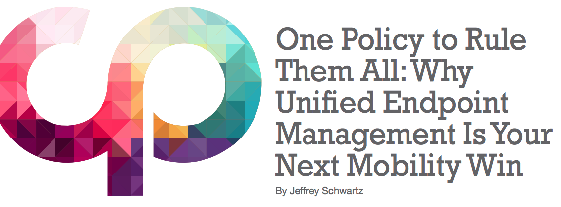 Why Unified Endpoint Management (UEM) Is Your Next Mobility Management Practice