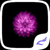Purple Flower Theme