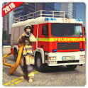 Firefighter Simulator 2018: Real Firefighting Game icon