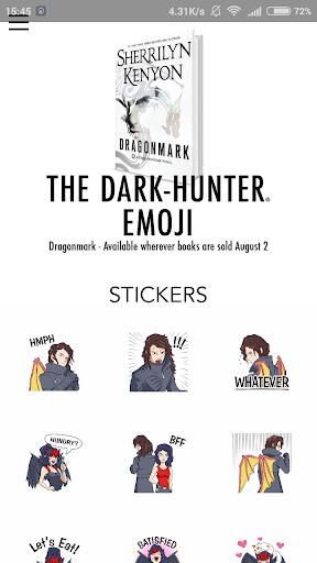 免費下載娛樂APP|Dark-Hunter® Emojis app開箱文|APP開箱王