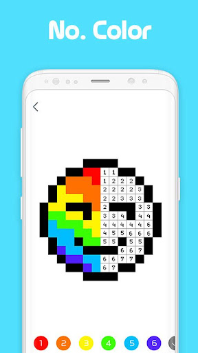 Pixel Artist: Color Number, Pixel Coloring Book 1.0.8 screenshots 1