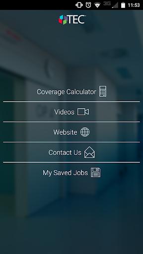 TEC™ Coverage Calculator