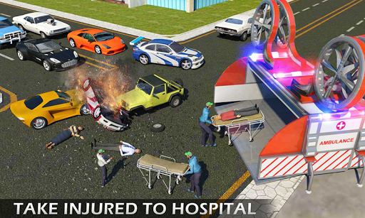 Heli Ambulance Rescue Team 3D Helicopter Simulator  screenshots 2