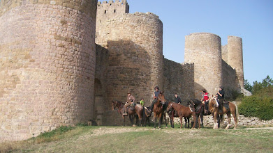 Photo: CASTILLO DE LOARRE A UNA HORA