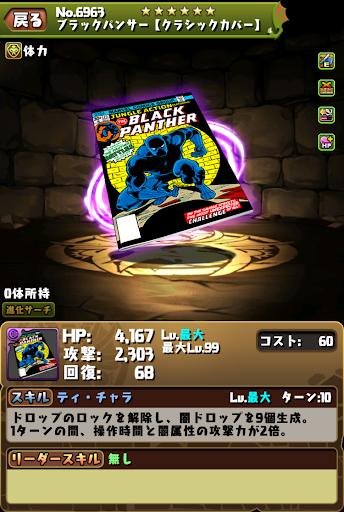 ブラックパンサー装備2