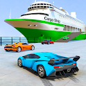 Cruise Ship Simulator : Car Transport Truck Games icon