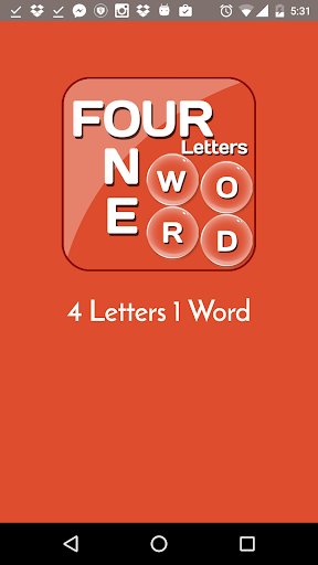 Four Letters Word - One|玩拼字App免費|玩APPs